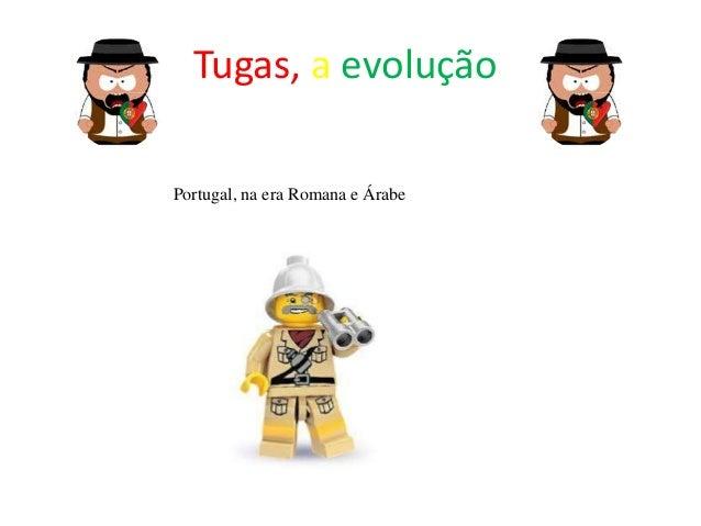 Tugas, a evolução Portugal, na era Romana e Árabe