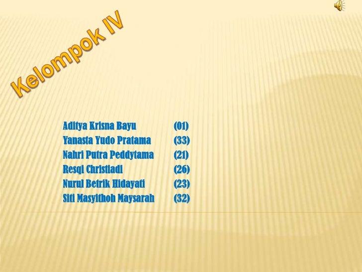 Aditya Krisna Bayu        (01)Yanasta Yudo Pratama      (33)Nahri Putra Peddytama     (21)Resqi Christiadi          (26)Nu...