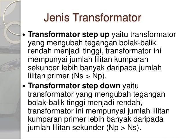 transformator 7 638 - Jenis Trafo Step Up Dan Step Down