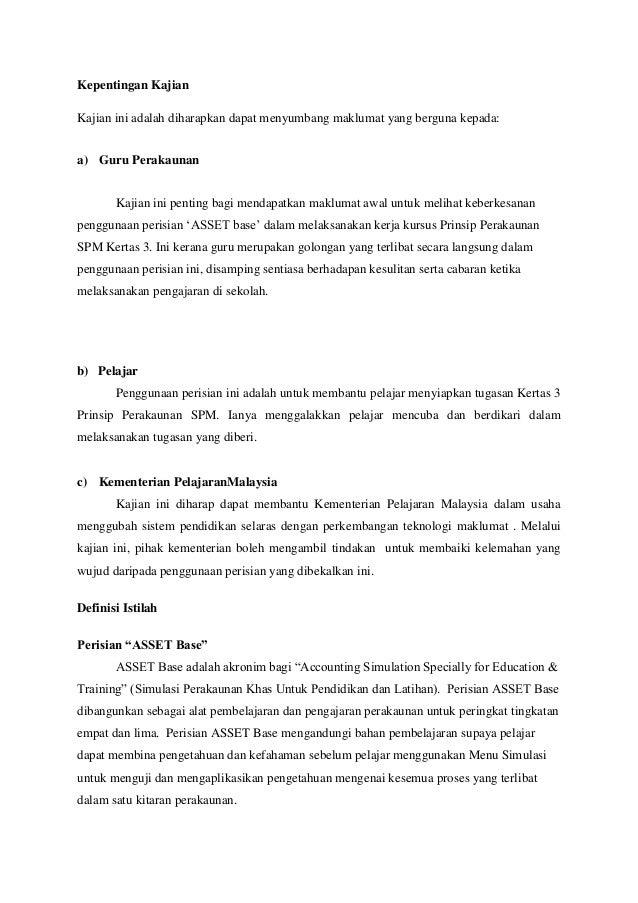 Contoh Folio Akaun Tingkatan 5 2019 Kerkosa