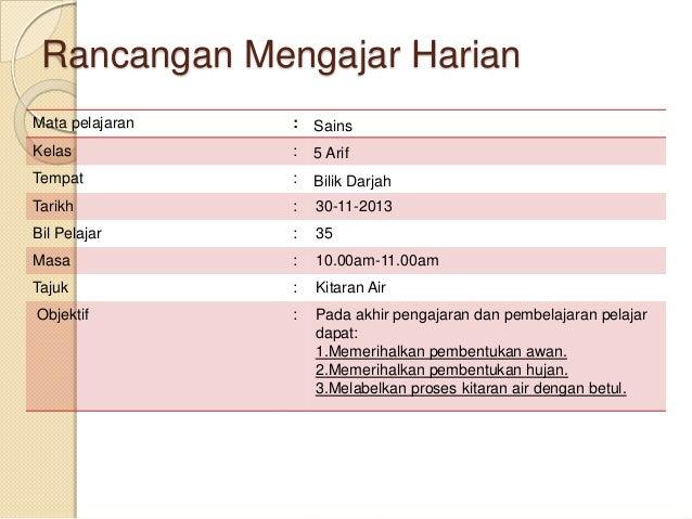 rancangan harian mengajar kaedah mat