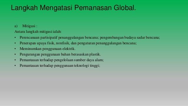 A163813 Tugasan Bahagian 6 Pemanasan Global