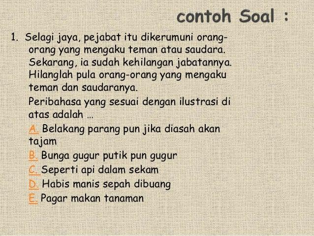 Ungkapan Peribahasa Kata Baku Kata Serapantugas Bahasa Indonesia