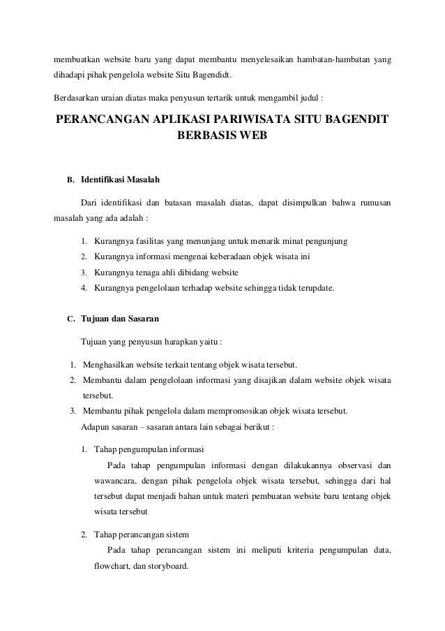 Contoh Proposal Pembuatan Aplikasi Berbasis Web Berbagi Contoh Proposal