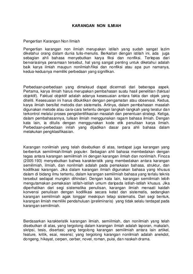 Tugas Bi 1 Karangan Bagian Surat
