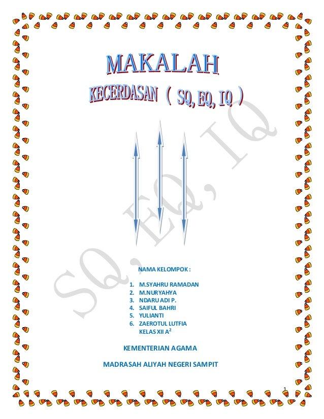 1 NAMA KELOMPOK : 1. M.SYAHRU RAMADAN 2. M.NURYAHYA 3. NDARU ADI P. 4. SAIFUL BAHRI 5. YULIANTI 6. ZAEROTUL LUTFIA KELAS X...