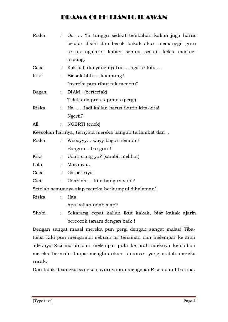 Satu Rasa Beda Bahasa Tugas Drama Seni Budaya Dianto Irawan