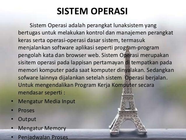 Tugas II SIM tentang Perangkat Lunak Komputer