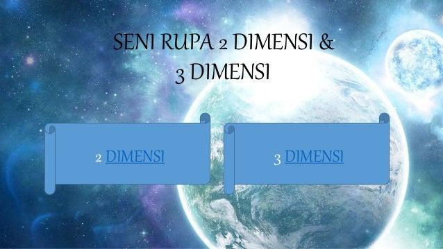 Seni Rupa Terapan 2 Dimensi Dan 3 Dimensi
