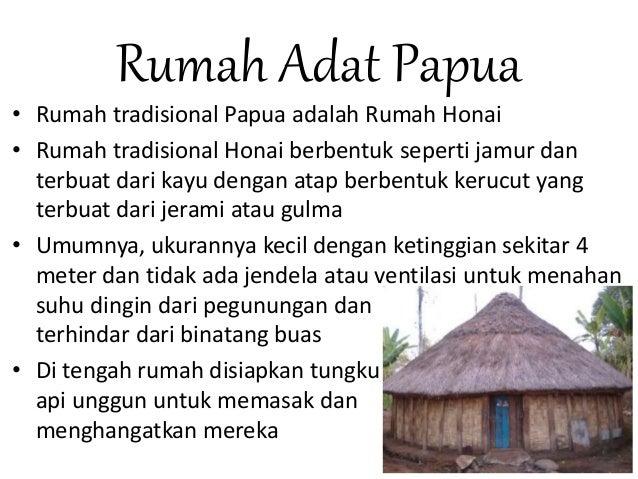 Cara Gambar Rumah Adat Papua Rumah Adat Indonesia