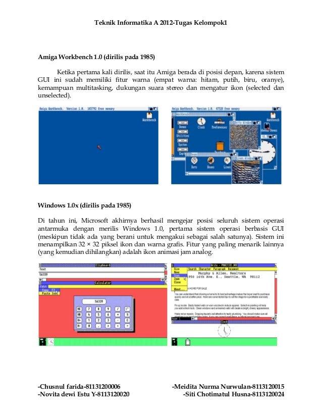 Perkembangan Sistem Operasi Komputer Dari Awal Sampai Akhir Slide 3