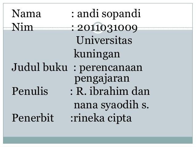 NamaTugas kurikulumsopandi            : andi pembelajaranNim         : 2011031009              Universitas             kun...