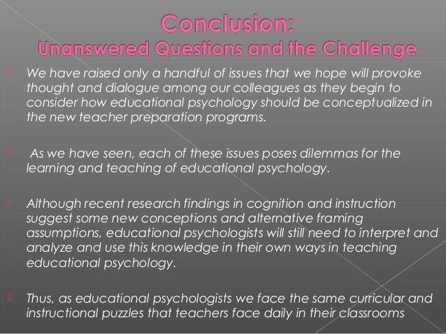 educational psychology 16 essay
