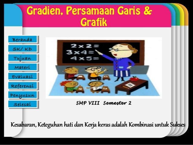 Gradien, Persamaan Garis &BerandaBeranda                       WINTER                  Grafik                         Temp...