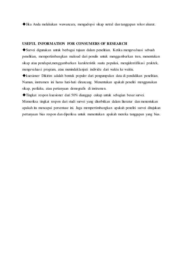 ◆Jika Anda melakukan wawancara, mengadopsi sikap netral dan tanggapan rekor akurat. USEFUL INFORMATION FOR CONSUMERS OF RE...