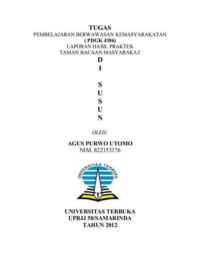 laporan pembelajaran berwawasan kemasyarakatan buta aksara