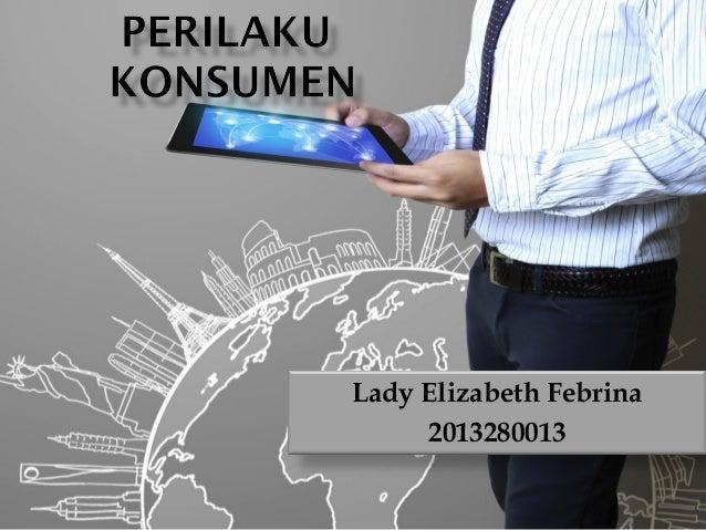 Lady Elizabeth Febrina 2013280013