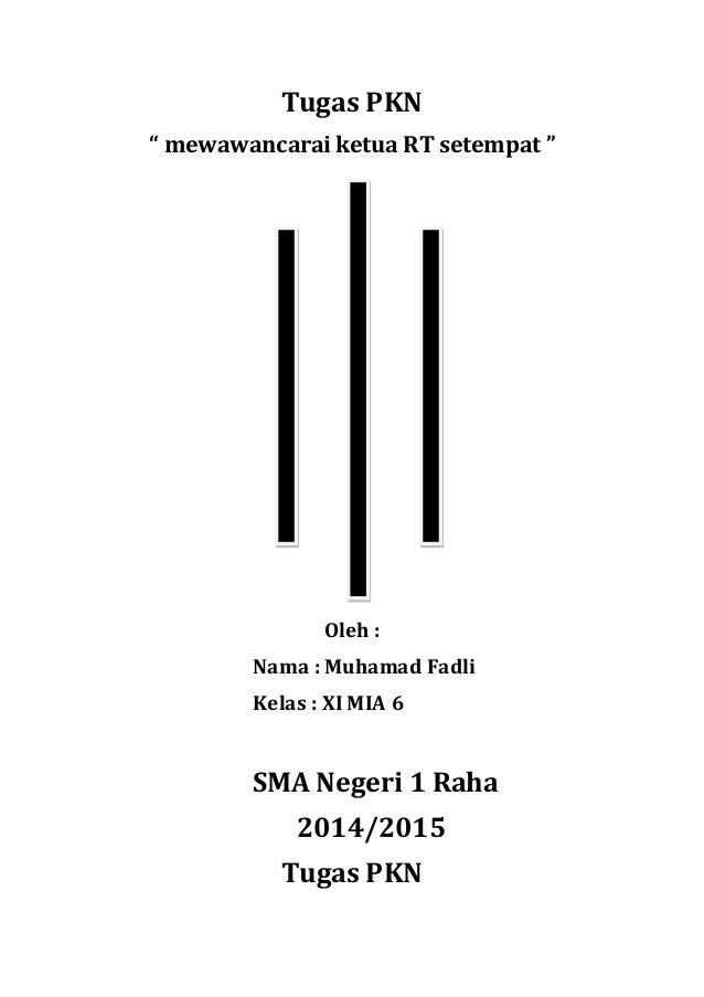 Hasil Wawancara Dengan Ketua Rt 02 Di Rw 04