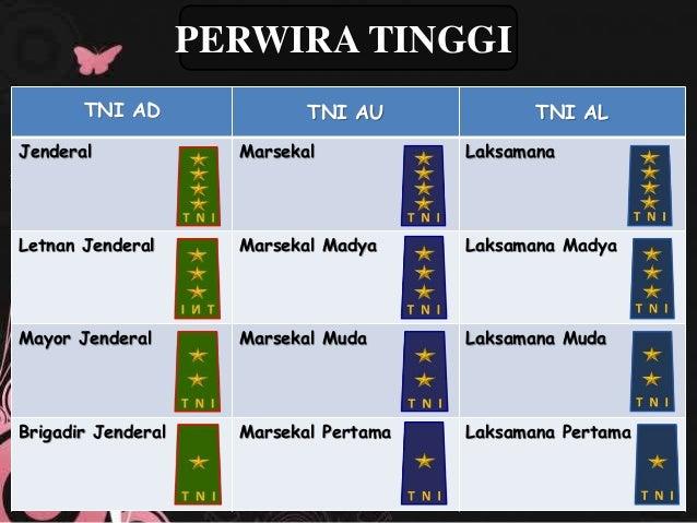 TANDA KEPANGKATAN TNI AD, AU, AL DAN POLRI