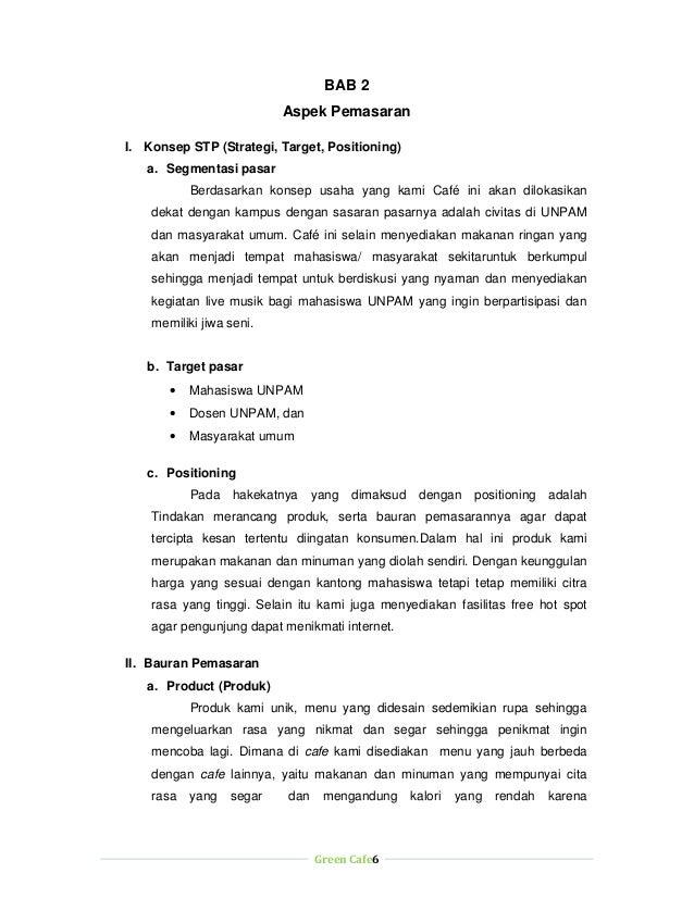 Contoh Proposal Usaha Cafe Pdf