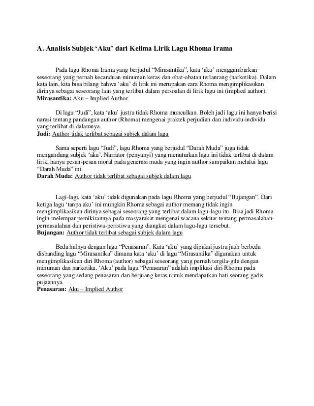 Reading Isis Pengimplikasian Author Dan Reader Pada
