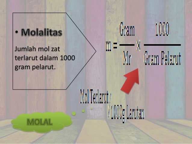 Sifat koligatif larutan menyatakan perbandingan mol suatu zatterhadap mol total dalam larutan ccuart Gallery