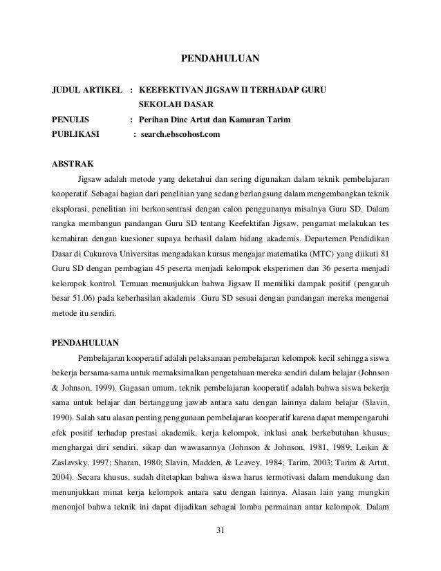 Review Artikel Metopen