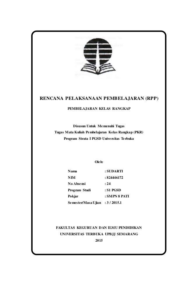 Tugas Rpp Pkr 221 Sudarti