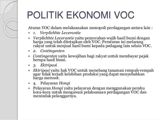 Tugas sejarah indonesia voc