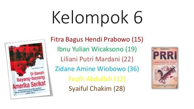 Kelompok 6 Fitra Bagus Hendi Prabowo (15) Ibnu Yulian Wicaksono (19) Liliani Putri Mardani (22) Zidane Amine Wiobowo (36) ...