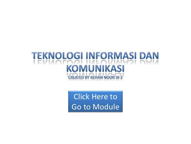 Click Here to Go to Module