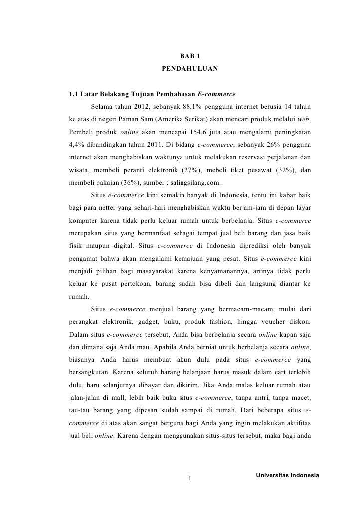E Commerce Pada Perusahaan Lazada Indonesia