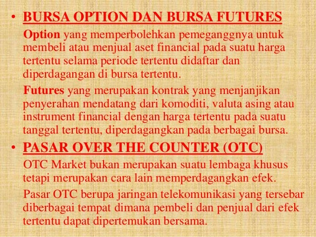 Cara memperdagangkan opsi emini futures