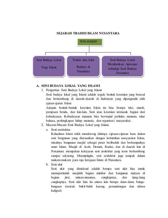 Sejarah Tradisi Islam Nusantara Materi Kelas 9