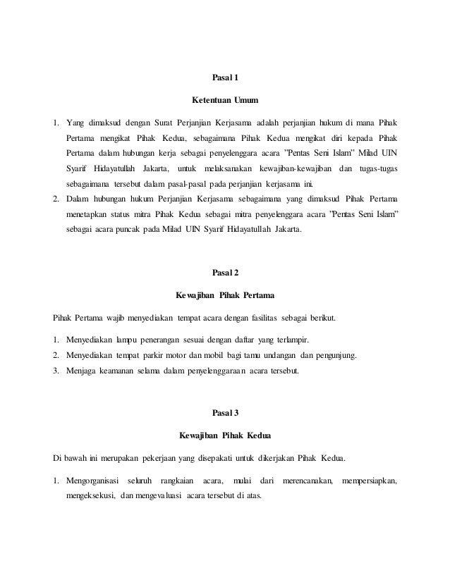 Akta Jual Beli Firma Dan Perjanjian Kerjasama