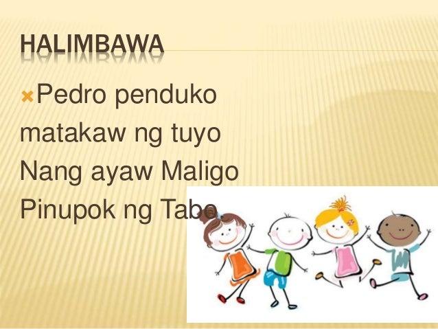 Halimbawa Ng Tulang Panudyo Tagalog 8