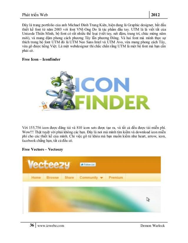 Phát triển Web 201236 www.izwebz.com Demon WarlockĐây là trang portfolio của anh Michael Đinh Trung Kiên, hiện đang là Gra...