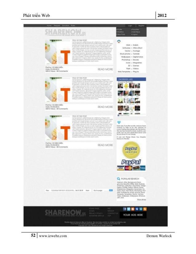 Phát triển Web 201252 www.izwebz.com Demon Warlock