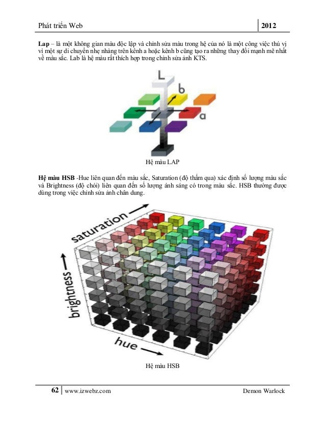Phát triển Web 201262 www.izwebz.com Demon WarlockLap – là một không gian màu độc lập và chỉnh sửa màu trong hệ của nó là ...