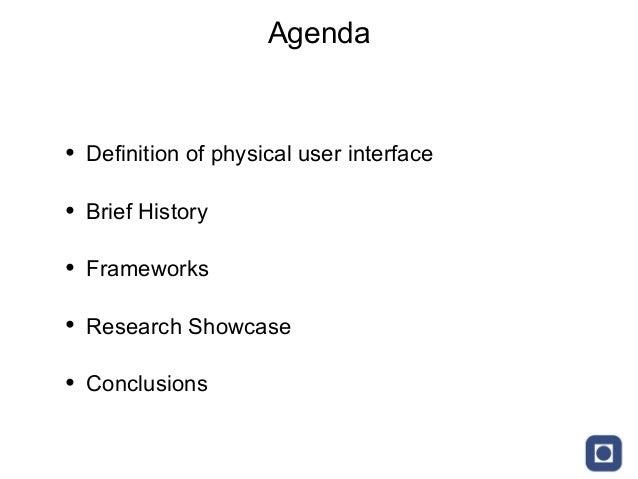 Tangible User Interface Showcase Slide 2