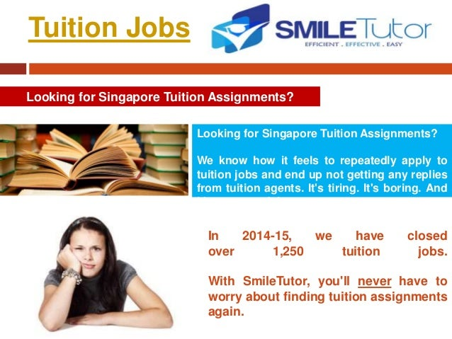 Yes tuition assignments
