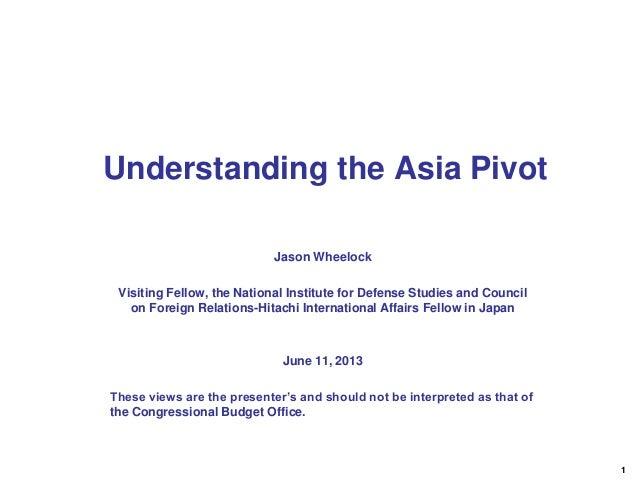 1Jason WheelockVisiting Fellow, the National Institute for Defense Studies and Councilon Foreign Relations-Hitachi Interna...