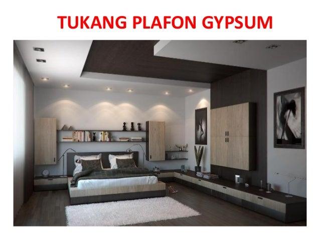 TUKANG PLAFON GYPSUM