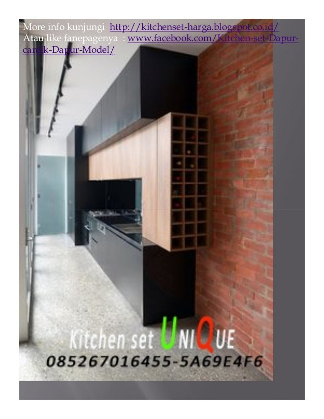 Tukang kitchen set di malang kitchen set untuk dapur for Harga kitchen cabinet 2016