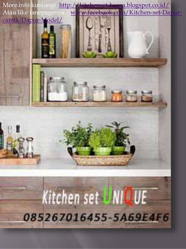Tukang kitchen set di malang kitchen set untuk dapur for Tukang kitchen set
