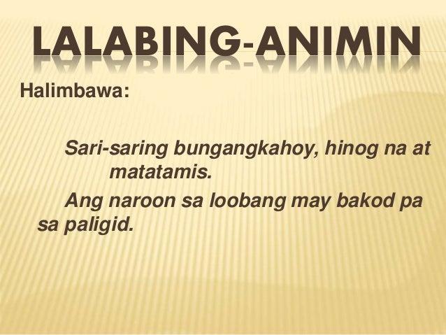 tulang may anim na taludtod Contextual translation of tula na may 4 saknong,4 na taludtod tula into english human translations with examples: tagalog, 4 stanza, verse 4, poem with 5 poems.