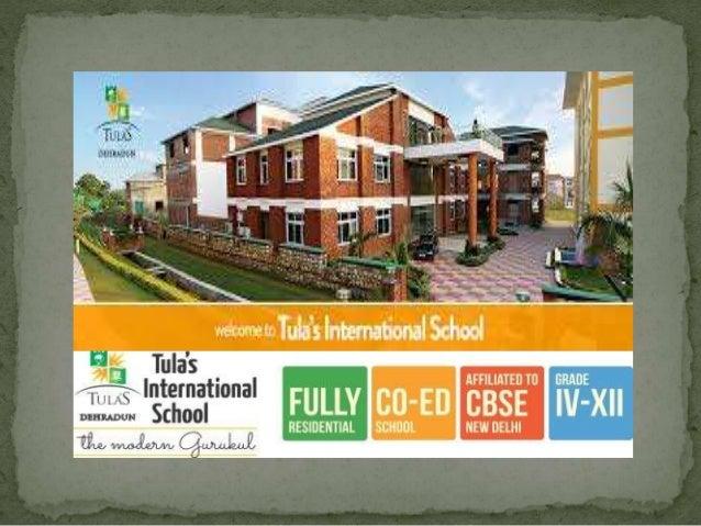 "Tula's International School ( The Modern Gurukul ) ""Deep roots strengthen in Tula's Soil developed he right morality & ins..."