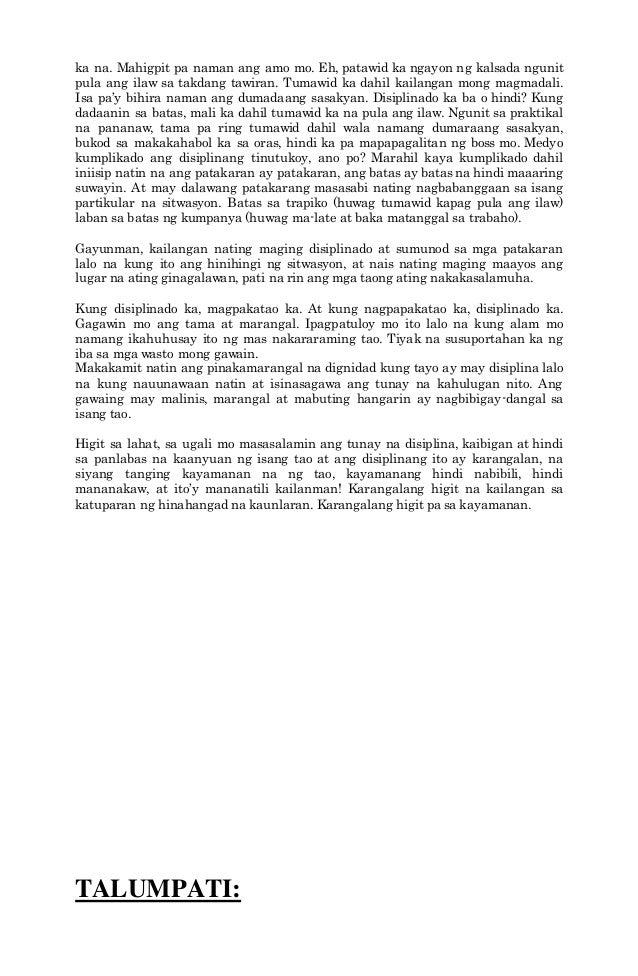 halimbawa ng maikling talumpati Talumpati tungkol sa kapayapaan posted on july 21, 2015 july 21, 2015 by   mga pangunahing tala at pahina mga halimbawa at uri ng maikling kwento.