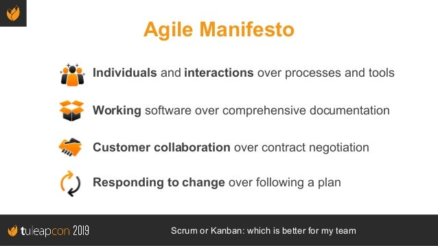 TuleapCon 2019. Scrum or Kanban: which is better for my team Slide 3