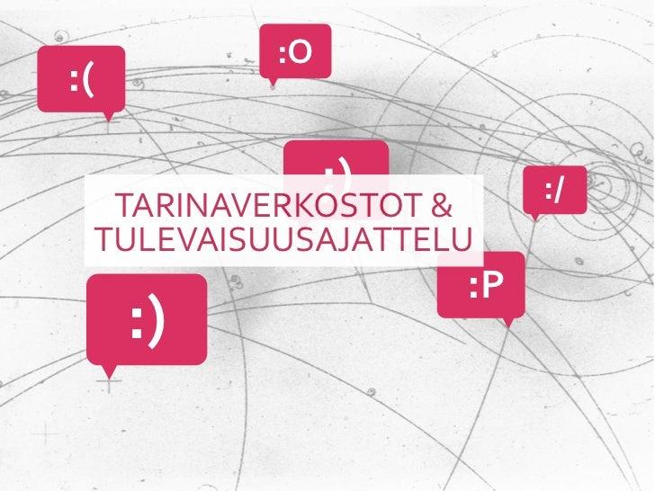 !Tulevaisuusulottuvuus on tärkeä osa sosiaalisten verkkoympäristöjen viehätysvoimaaIhmiset eivät ole kii...